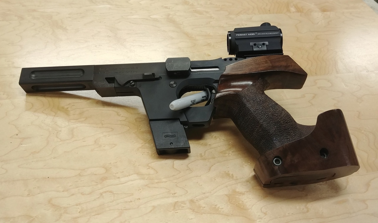 Walther GSP 22/32 Package w/ David Wilson Barrel, 2 Stage Trigger, Micro Dots 03022011