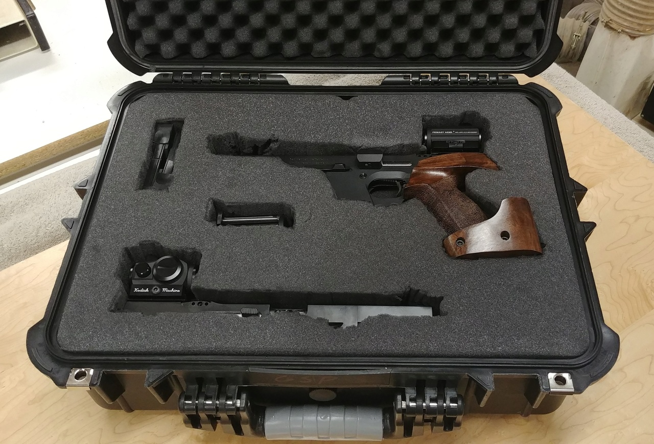 Walther GSP 22/32 Package w/ David Wilson Barrel, 2 Stage Trigger, Micro Dots 03022013