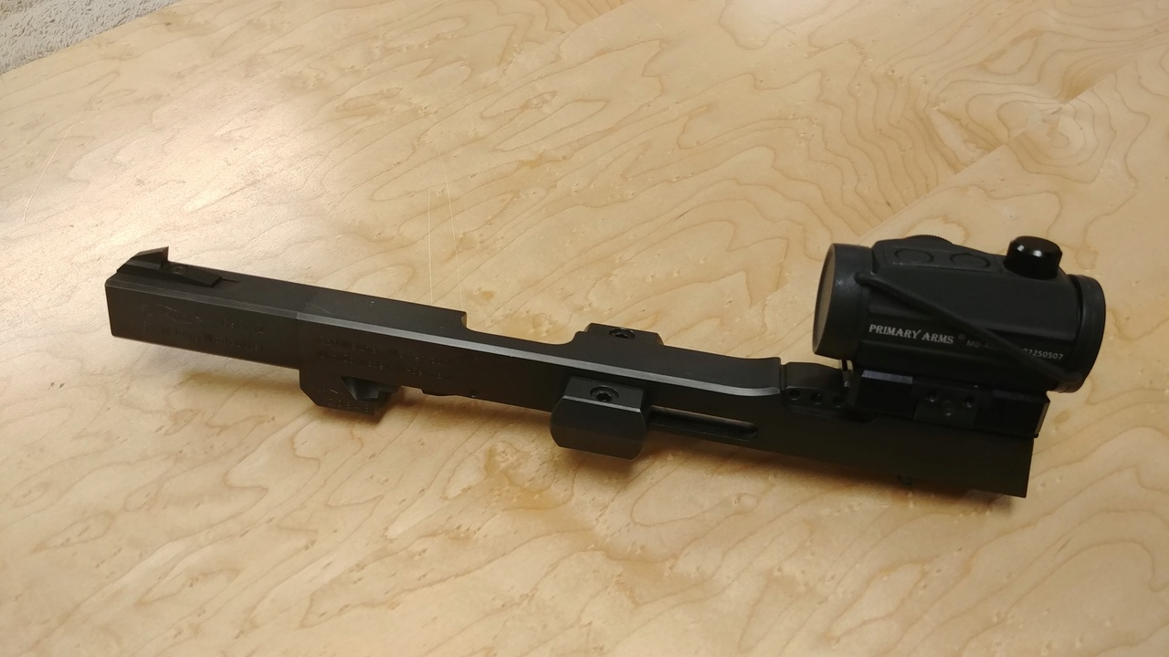 FS: Walther GSP 32 Upper, 2 mags, custom rail, Kodiak base W/Microdot 03232011